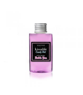 Aceite Besable Candy Kissable Bubble Gum