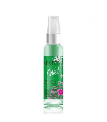 Gel Intimo Wet Lubricante Naturals Aloe Vera
