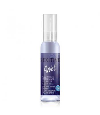 Gel Intimo Wet Lubricante Ice Fresh Extra Time