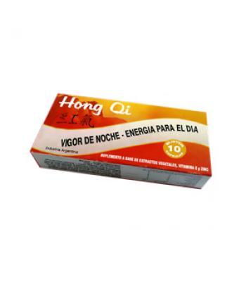 Hong Qi Vigor Viril x 10 + Arginina